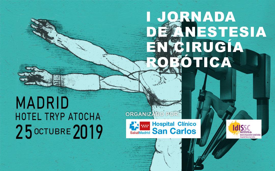 HERSILL patrocina la I Jornada de Anestesia en Cirugía Robótica – Madrid, España – 25 OCTUBRE 2019