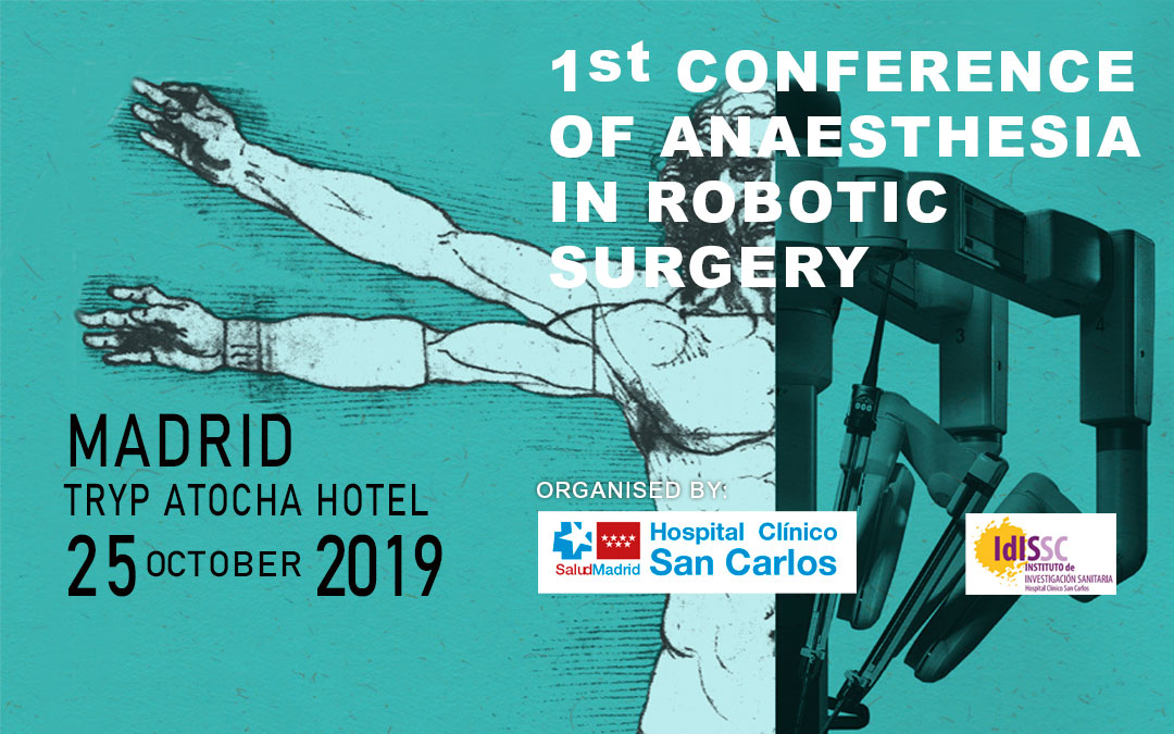 HERSILL sponsors the 1st Conference on Anaesthesia in Robotic Surgery – Madrid, Spain – 25 OCTOBER 2019
