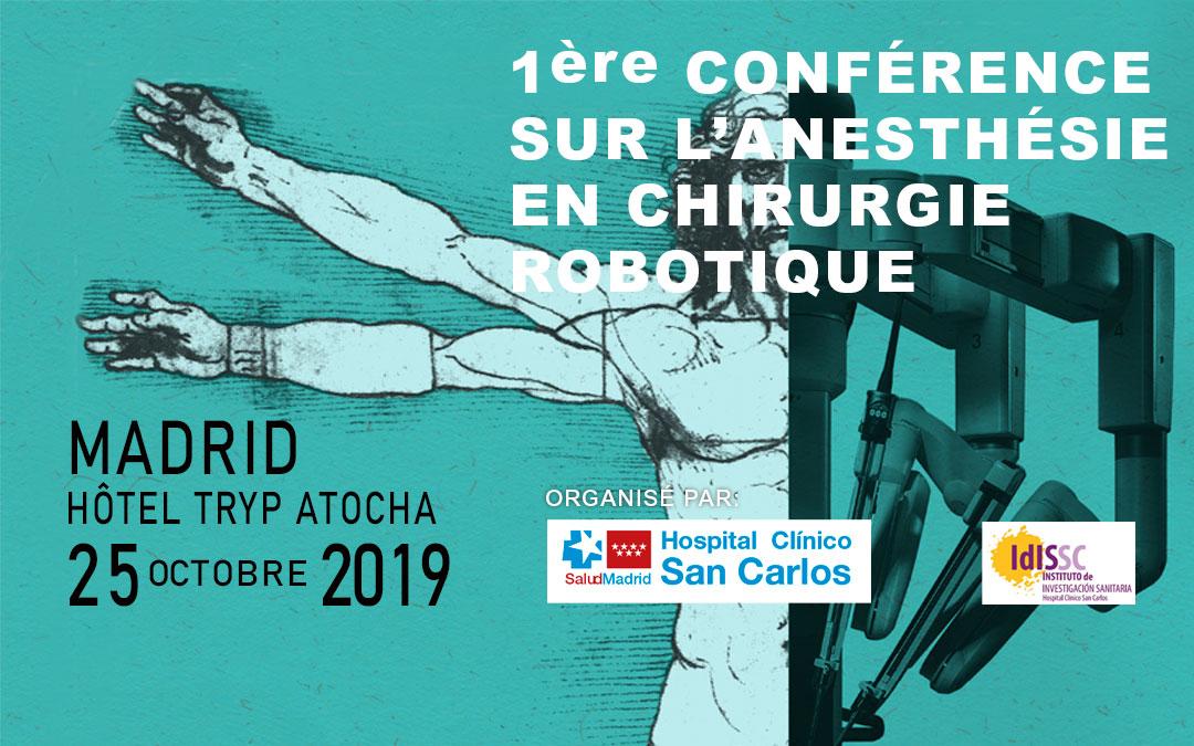 HERSILL sponsorise la 1ère Conférence sur l'Anesthésie en Chirurgie Robotique – Madrid, Espagne – 25 OCTOBRE 2019