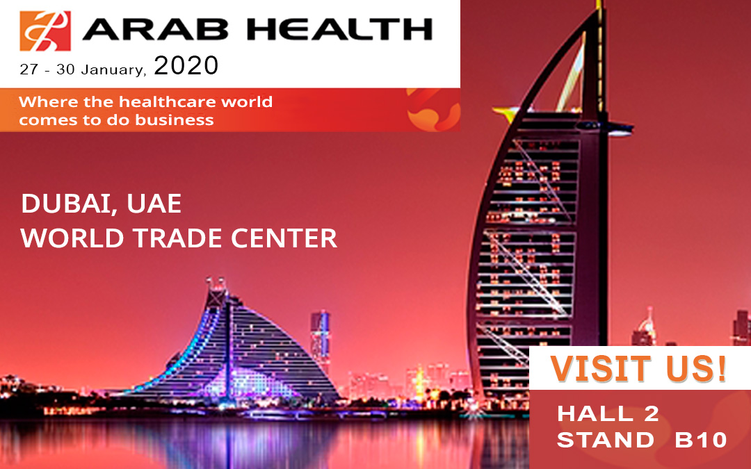 HERSILL at ARAB HEALTH –Dubai, UAE – 27-30 JANUARY 2020