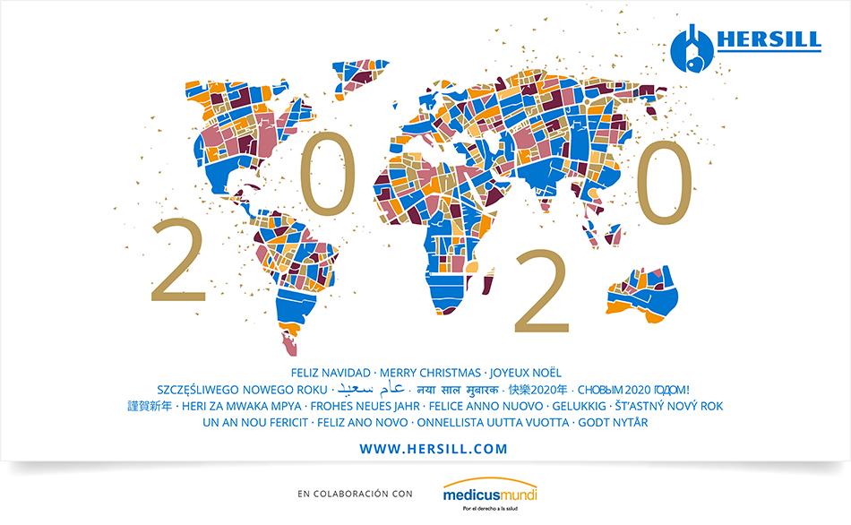 HERSILL TE DESEA UNA FELIZ NAVIDAD Y LOS MEJORES DESEOS PARA ESTE 2020
