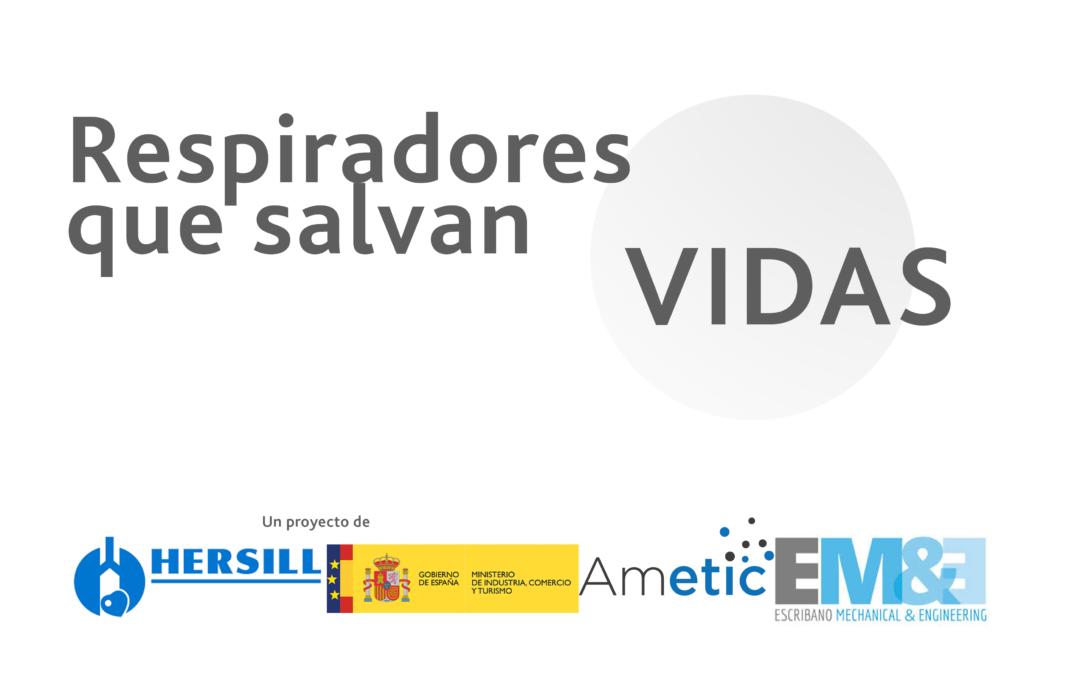 El sector público y privado unidos en la fabricación de 5.000 respiradores en la lucha contra el Covid-19 en España
