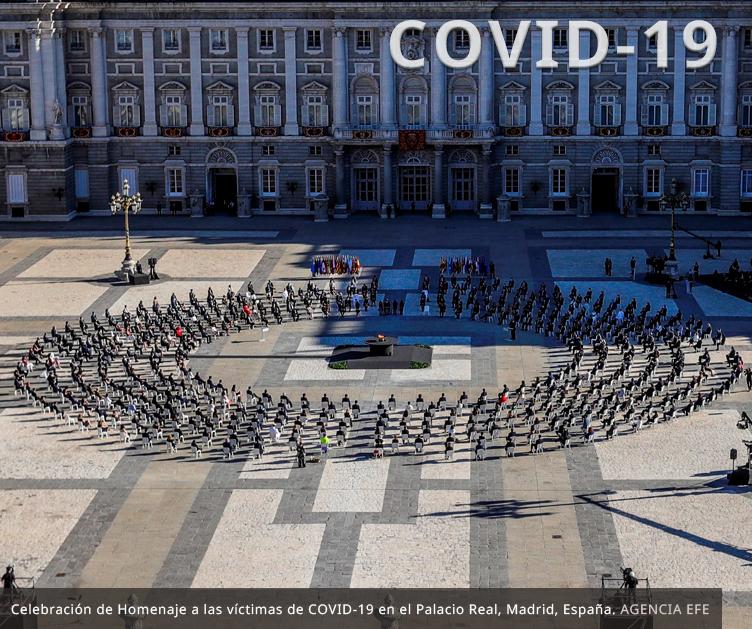 HERSILL asiste al Homenaje de Estado a las víctimas de COVID-19 en España