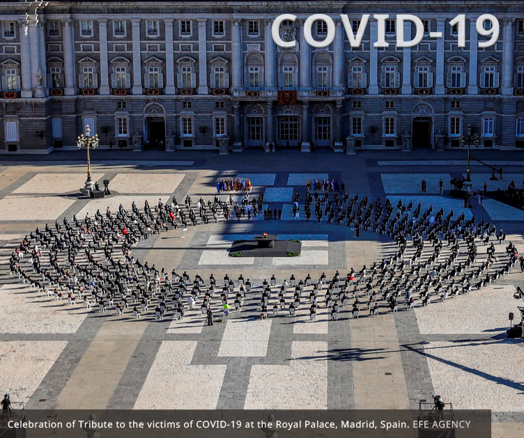 HERSILL attends State Tribute to COVID-19 victims in Spain