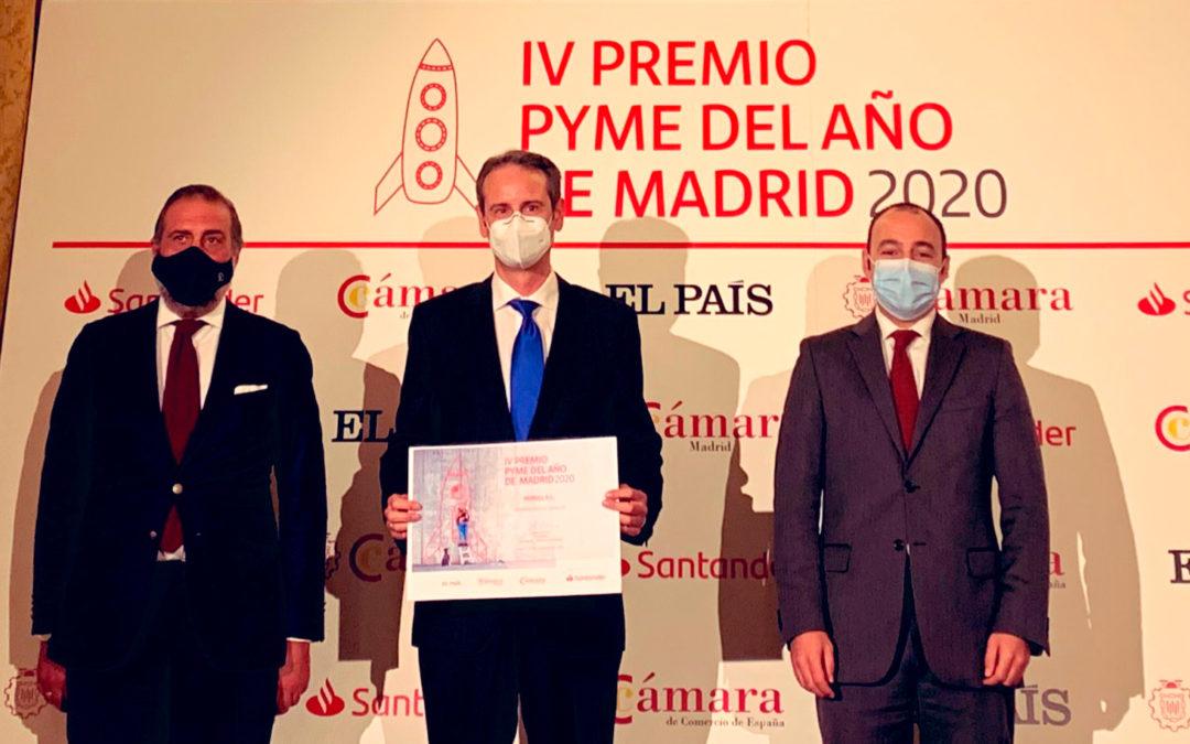 HERSILL IV Prix de la PME de l'Année de Madrid 2020 Chambre de Commerce – HERSILL Mention Spéciale COVID-19