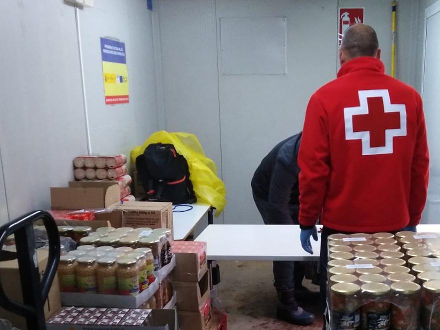 Donación de HERSILL a la Asamblea de Móstoles (Madrid) para el Plan Cruz Roja Responde frente al COVID-19