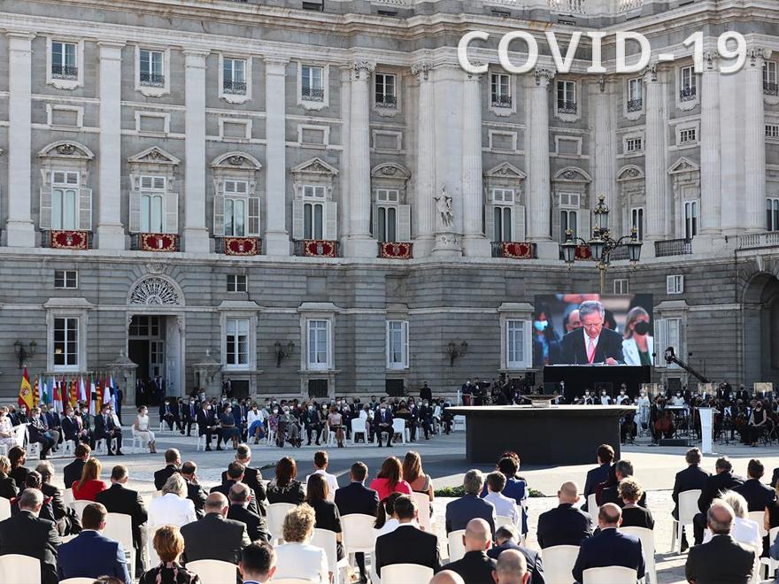 HERSILL ASISTE AL HOMENAJE DE ESTADO A LAS VÍCTIMAS DEL COVID-19, CON RECONOCIMIENTO ESPECIAL AL PERSONAL SANITARIO